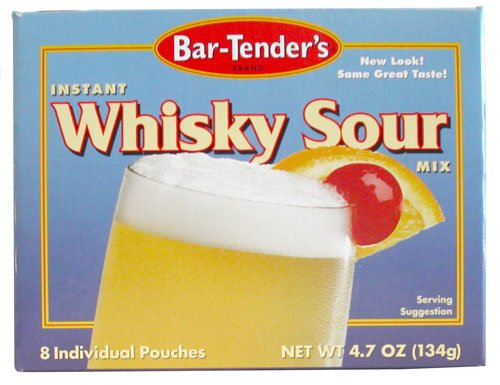 Whiskey Sour Bar-Tenders Instant Cocktail Mix, 4.7 ounces (Bartenders Sour Mix compare prices)