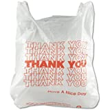 Inteplast Group THW1VAL 12.5 Mic Thickness, Thank You Bag (Case of 900)