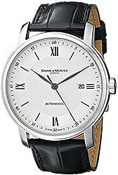 Baume & Mercier Men's MOA08868 Analog Display Automatic Self Wind Black Watch