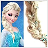 Frozen Princess Snow Queen Elsa Hair pins Set (1 Hair Clip + 5 Small Hair Pin)