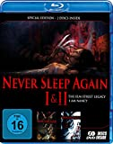Never sleep again 1+2 - Special Edition (BD) [Blu-ray]