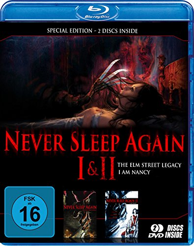 Never sleep again 1+2 - Special Edition (BD) [Blu-ray] [Edizione: Germania]