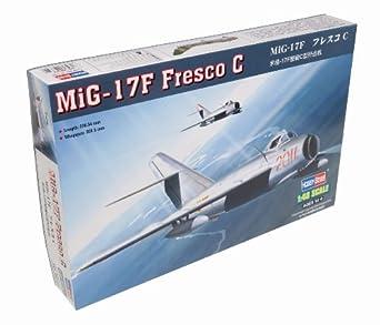 Hobby Boss MiG-17F Fresco C Airplane Model Building Kit