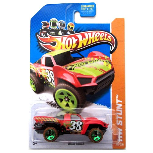 Hot Wheels HW Stunt Baja Truck Red #86/250