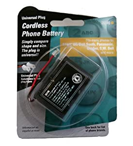 1 - Battery For Att-tl7600 Headsets