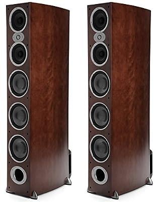 Polk Audio RTI A9 Floorstanding Speaker One Pair, Cherry by Polk Audio