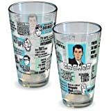 ICUP Archer Quotes Pint Glass, Clear