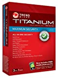 Titanium Maximum Security,  3 User, 1 Year (PC)