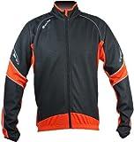 Polaris Tornado Jacket, Orange/Black, X-Large