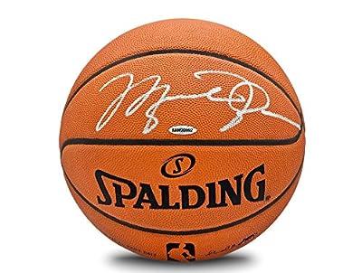 Michael Jordan Signed UDA Basketball-Official