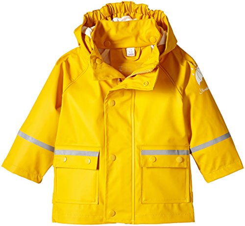 Sterntaler Baby - Jungen Regenmantel 5651405, Gr. 74, Gelb (safran 164)