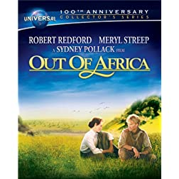 Out of Africa (Universal 100th Anniversary Collector's Series) [Blu-ray Book + DVD + Digital Copy]