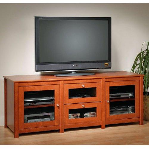 Cheap Prepac Furniture Santino Flat Panel Plasma Console TV Stand (BAS-6310)