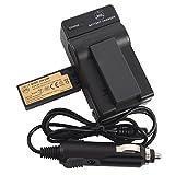 QIAOJINLIN 2個 完全互換バッテリー 予備電池 急速充電器 対応 Sony ソニー NP-FC10 Cyber-shot DSC-F77 DSC-FX77 DSC-P2 DSC-P3 DSC-P5 DSC-P7 DSC-P8 DSC-P9 DSC-P10 DSC-P12 カメラ