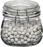 Kitchen Craft 500 g Home Made Ceramic Baking Beans with Glass Storage Jar