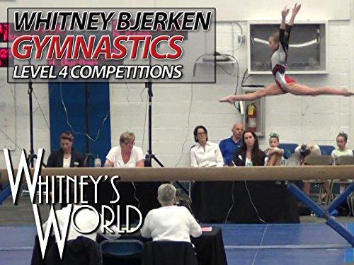 Whitney Bjerken Gymnastics Level 4 Competitions - Season 1