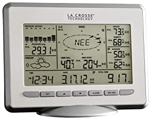 La Crosse Technology WS-2810U-IT Professional Weather Center with Solar Wind Sensor