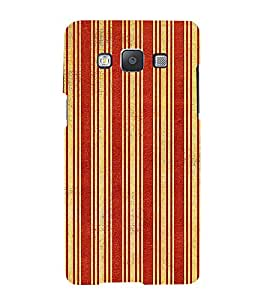 iFasho Design lines pattern Back Case Cover for Samsung Galaxy A5