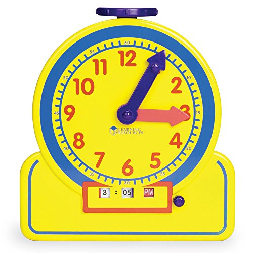 Learning Resources Primary Time Teacher Jr. 12 Hour - 1