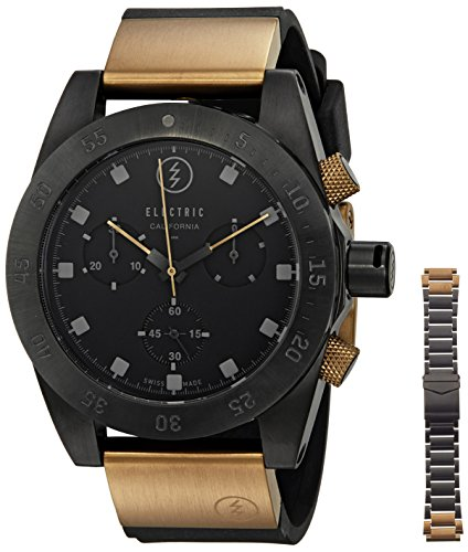 Electric-Unisex-EW0040040006-DW01-SWISS-Analog-Display-Swiss-Quartz-Two-Tone-Watch