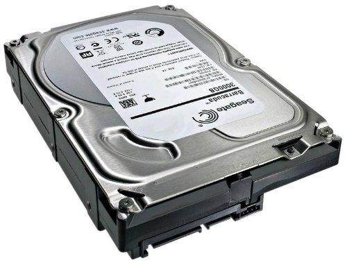 Seagate 3TB Desktop HDD SATA 6Gb/s 64MB Cache 3.5-Inch Internal Bare Drive (ST3000DM001)