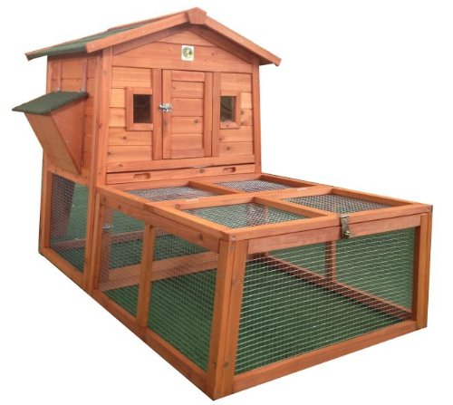 RH-57R1-WRun-Rabbit-Hutch-with-Storage-for-Hay-Straw
