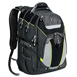 High Sierra Elite Business Pack 15-Inch Laptop Backpack - Gray