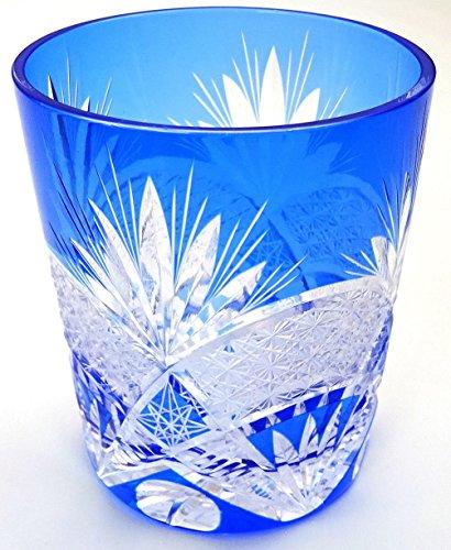 クリスタル切子ガラス オールドグラス