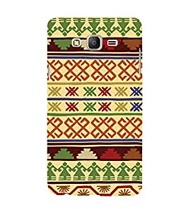 Tribal Cross Art Pattern Cute Fashion 3D Hard Polycarbonate Designer Back Case Cover for Samsung Galaxy On5 Pro (2016) :: Samsung On 5 Pro