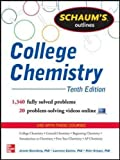 img - for Schaum's Outline of College Chemistry: 1,340 Solved Problems + 23 Videos (Schaum's Outlines) book / textbook / text book