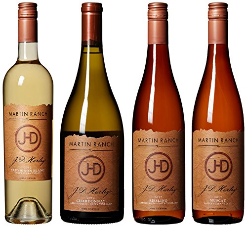 Martin Ranch J.D. Hurley White Wines Mixed Pack, 4 X 750 Ml