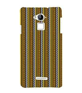 EPICCASE twisted drapes Mobile Back Case Cover For CoolPad Note 3 (Designer Case)