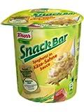 Knorr Snack Bar Spaghetti in Käse-Sahne-Sauce, 8er Pack (8 x 71 g)
