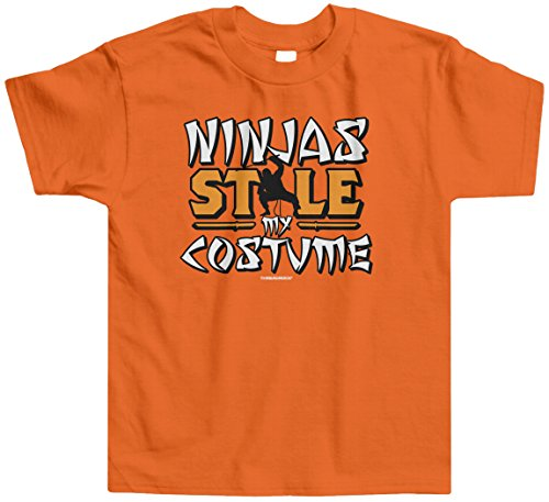 Threadrock Little Boys' Ninjas Stole My Costume Toddler T-Shirt