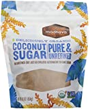 Madhava - Organic Blonde Coconut Sugar, 16 oz crystals [Grocery]
