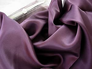 Plum Luxury 100% Silk Pillowcase Hair & Facial Beauty Queen / Standard