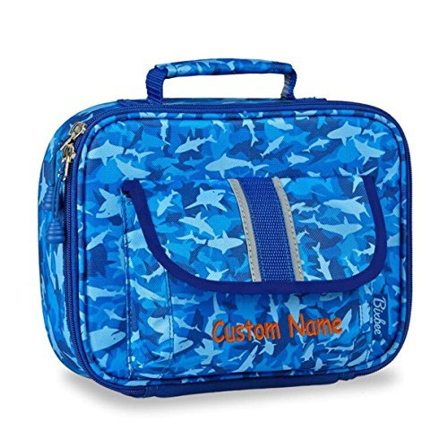 personalized-bixbee-shark-camo-kids-insulated-lunchbox-blue-custom-name-by-dibsies-personalization-s