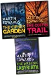Martin Edwards Martin Edwards Lake District Mystery 3 Books Collection Pack Set RRP: £23.97 (The Coffin Trail, ARSENIC LABYRINTH, The Cipher Garden)