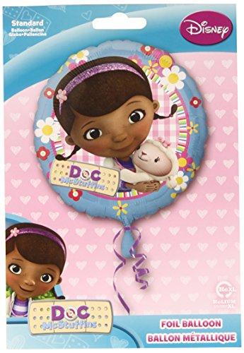 "18"" Doc McStuffin Balloon with Lambie Disney Junior Birthday Party Girl - 1"