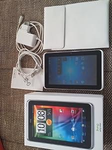 HTC Flyer 17,7 cm (7 Zoll) Tablet-PC (Qualcomm Snapdragon, 1,5GHz, 1GB RAM, 32GB Flash Speicher, UMTS, WLAN, WiFi, Android 2.3) weiß/silber mit T-Com Branding