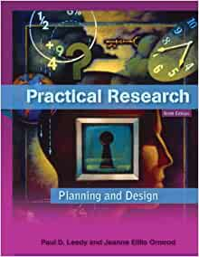 practical research planning and design with myeducationlab 9th edition paul d leedy