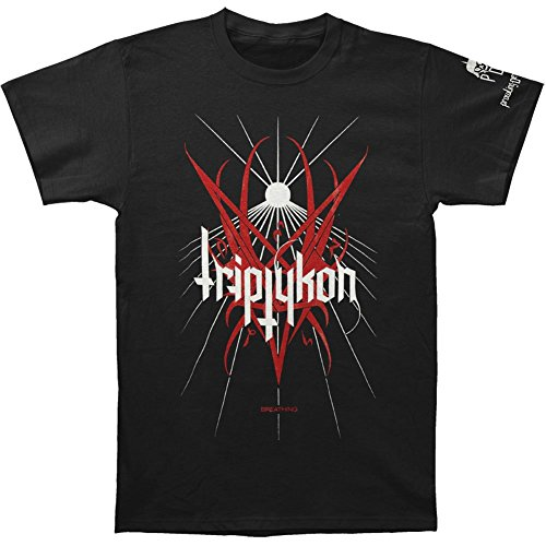 Arnoldo Blacksjd Triptykon Men's Breathing T-shirt Black X-Large