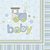 Carters Baby Boy Lunch Napkins (16 count)