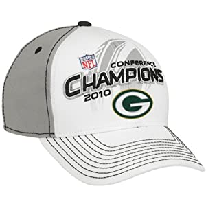 GB Packers NFC Conference Champions Locker Room Hat by Reebok