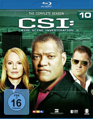 CSI - Season 10 [Blu-ray]