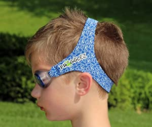 Frogglez Goggles Kids Swim Goggles (Blue, Medium)