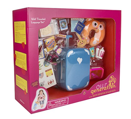 Our Generation Home Accessory - Well Travelled Luggage Set (American Girl Food compare prices)