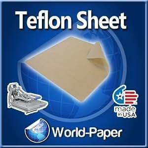 "Teflon Cover Sheet 16""X16"" Transfer paper Iron on heat"