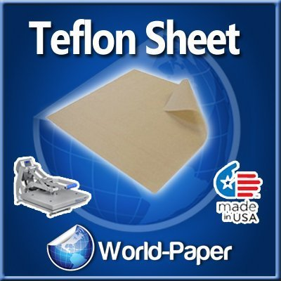 Teflon Cover Sheet 16X16 Transfer paper Iron on heat