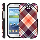 (Plaid Mix) Design Shell Cover Case for Samsung Galaxy S3 S 3 III by ManiaHead